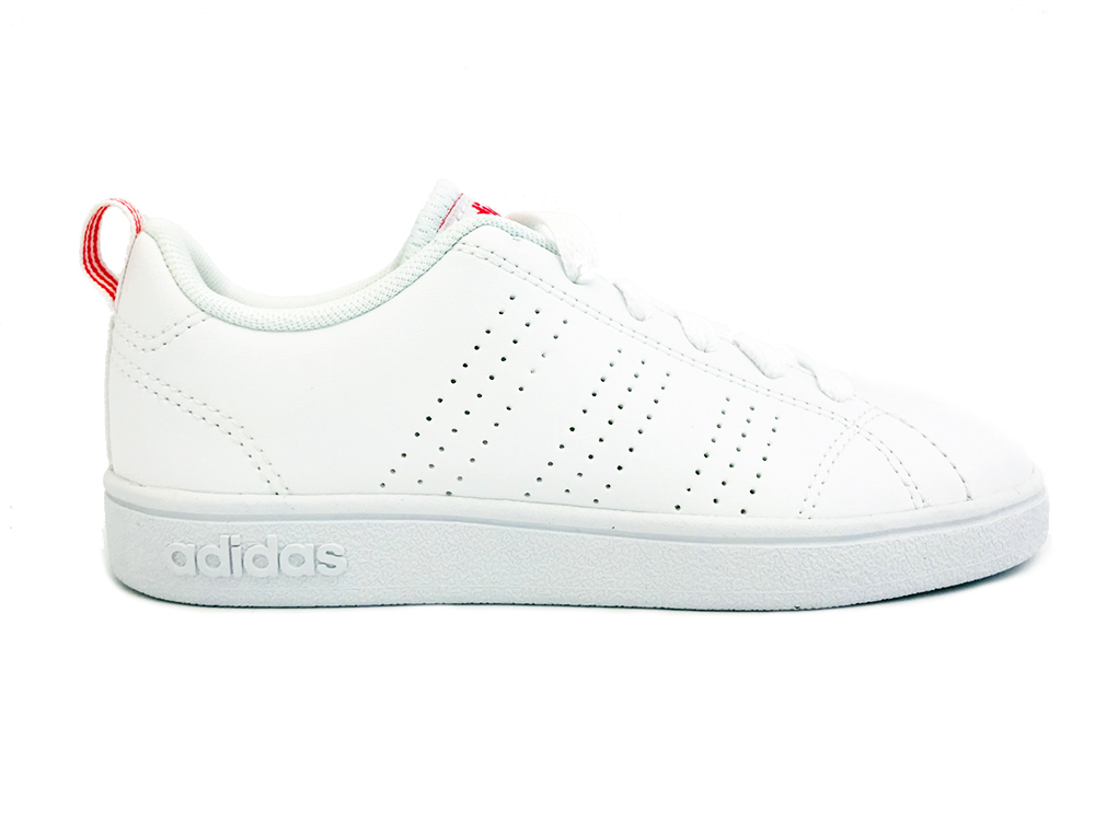 Witte adidas Sneakers VS Advantage CL Kids