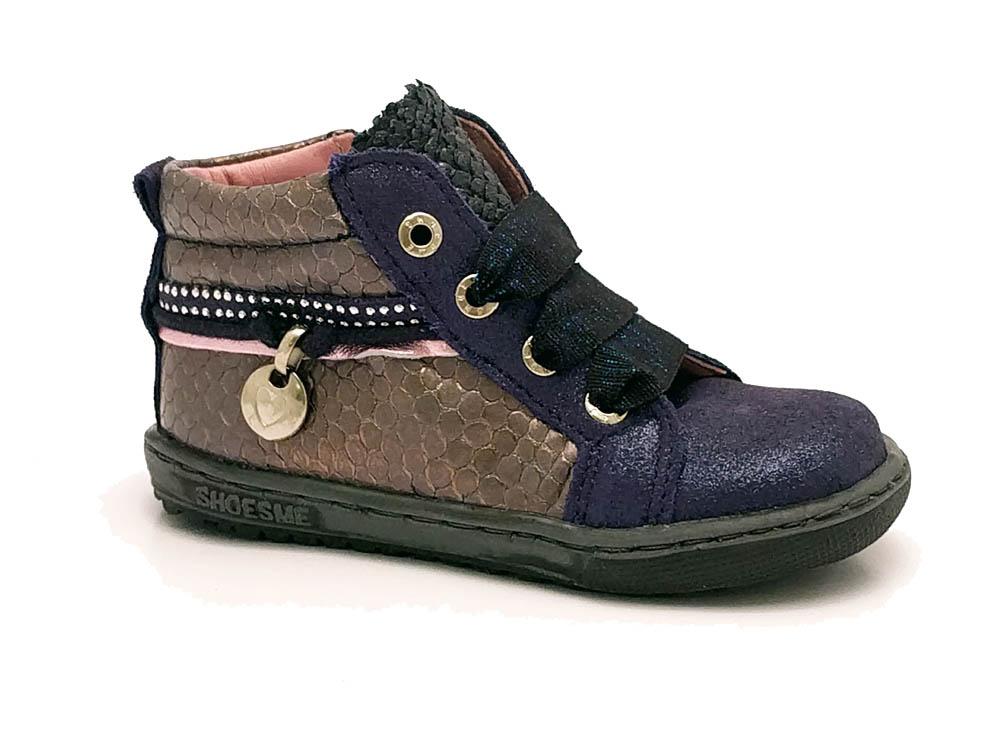 Blauwe Shoesme Veterschoenen