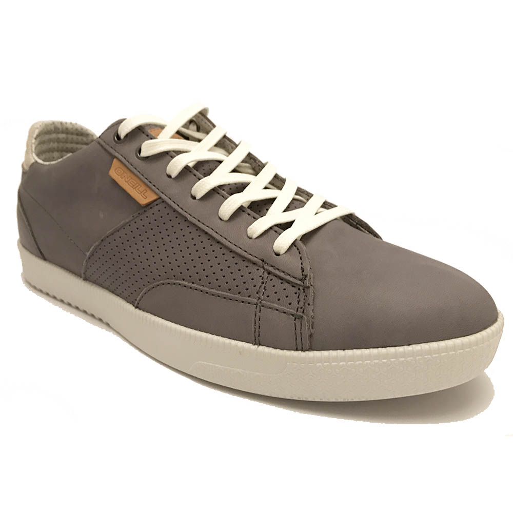 Grijze O'Neill Veterschoenen Mutant Low Leather
