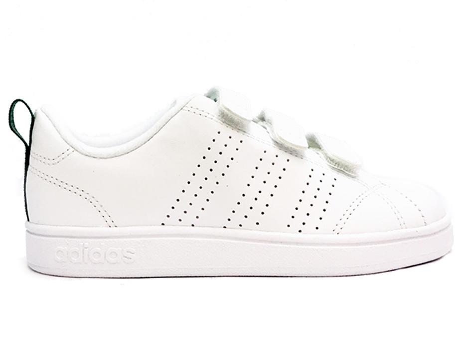 Image of Witte adidas VS Advantage Clean Sneaker Kids