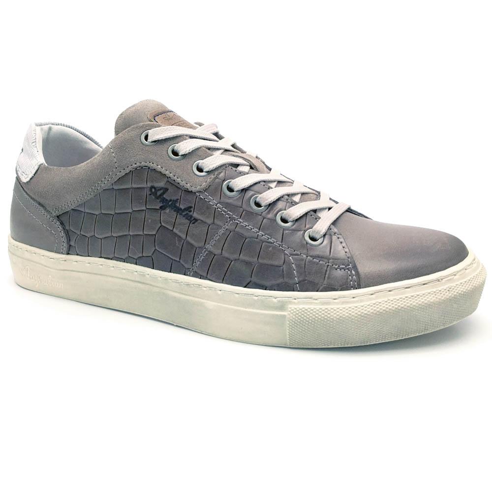 Grijze Australian Veterschoenen Shilton Leather