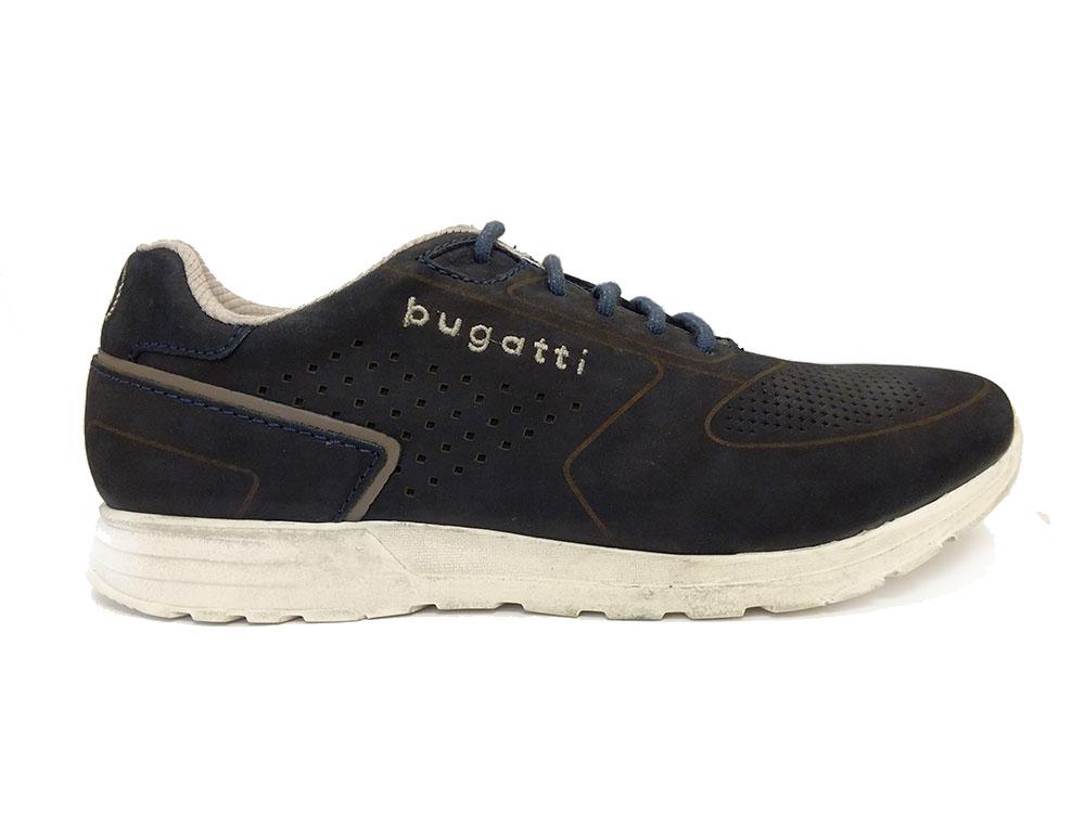 Blauwe Bugatti Sneakers Baker