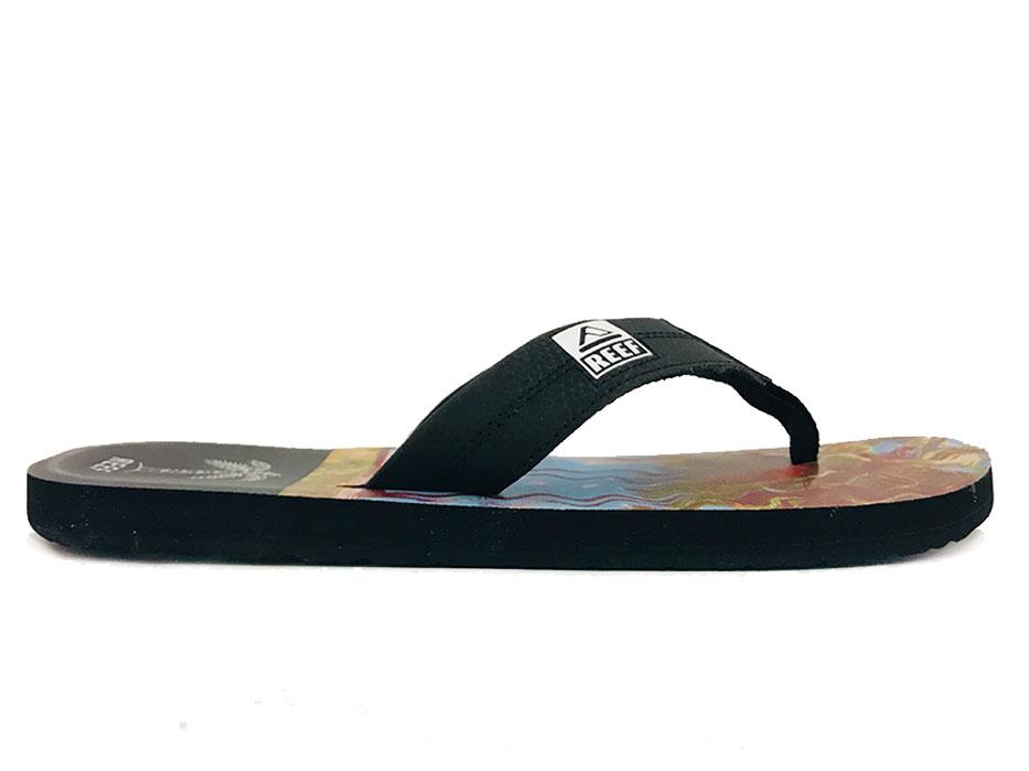 Multicolores Chaussures Imprime Ht Des Récifs Pour Les Hommes bhpdkv0JK