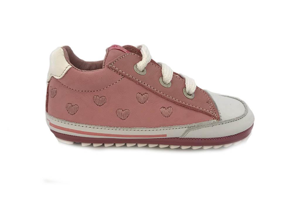 Roze ShoesMe Veterschoenen Flexzool