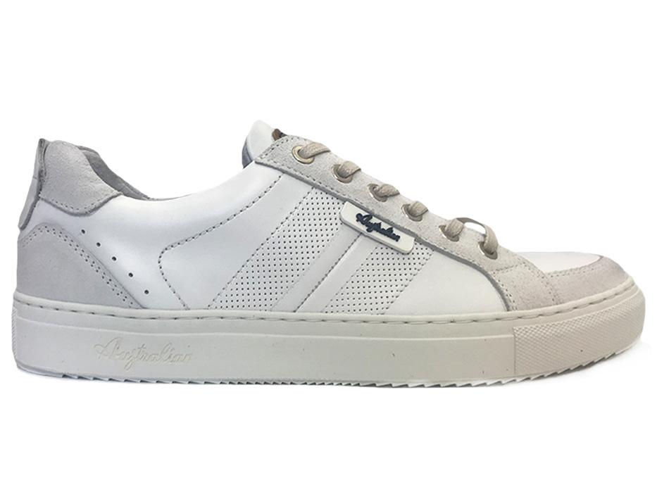 Witte Australian Veterschoenen Cardiff Leather