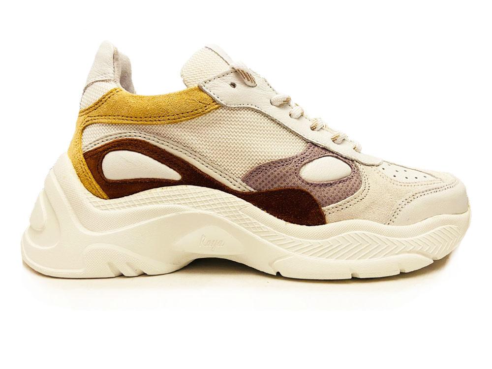 Witte Via Vai Sneakers Vitello Colatina