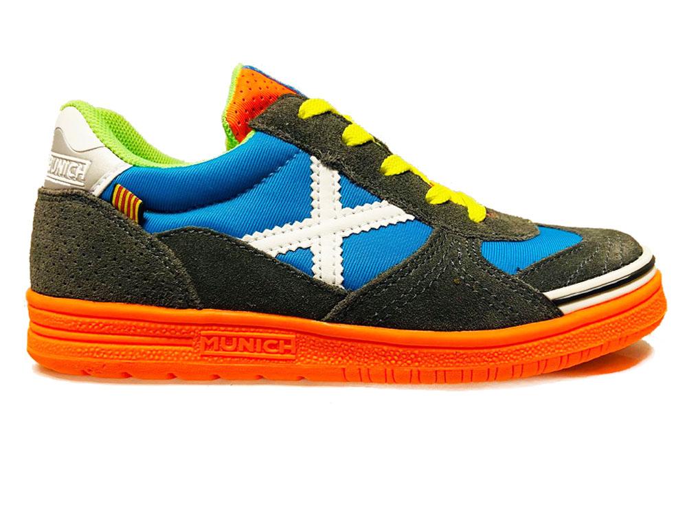 Grijze Munich Sneakers G3 Kids