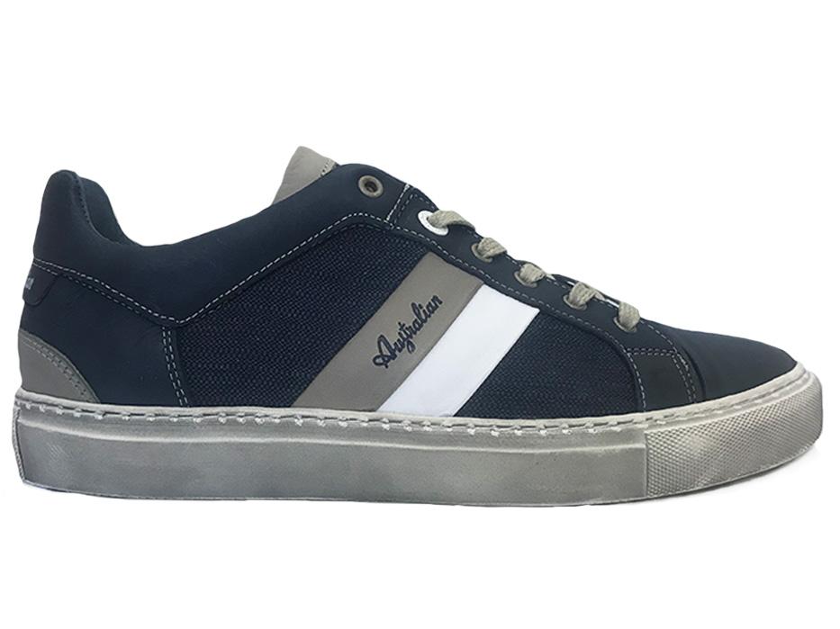 Blauwe Australian Veterschoenen Darryl Leather