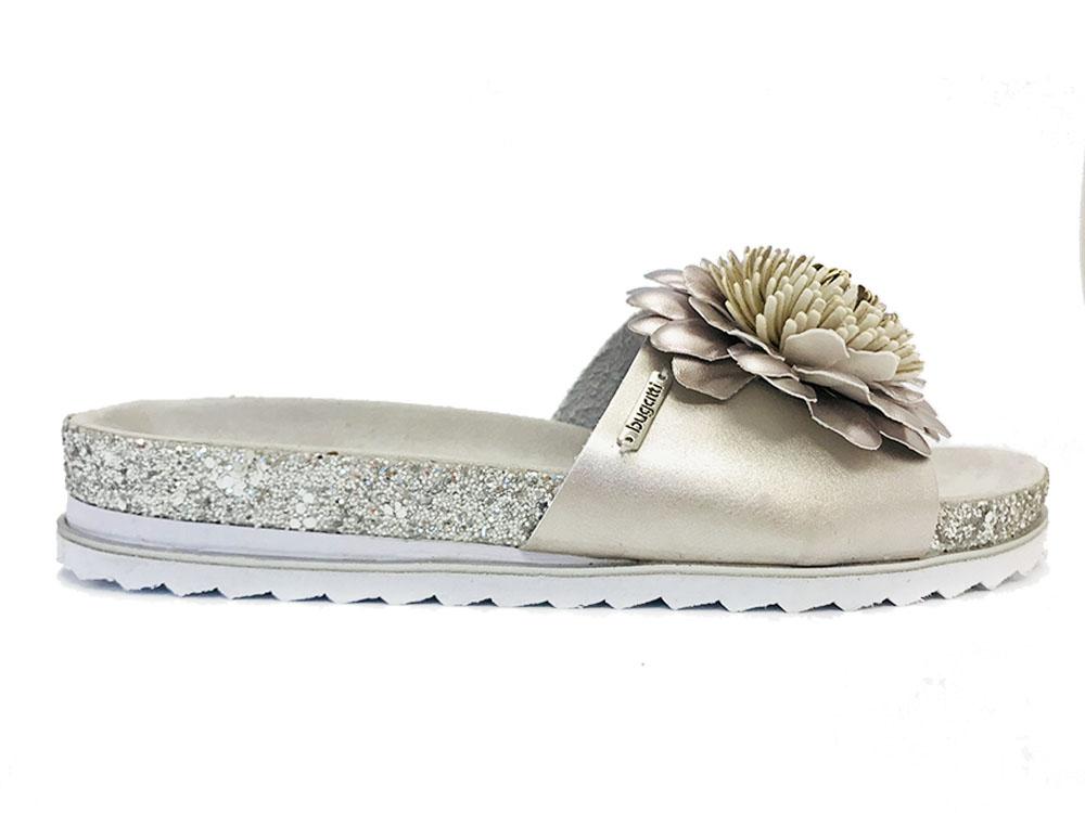 Zilveren Bugatti Slippers