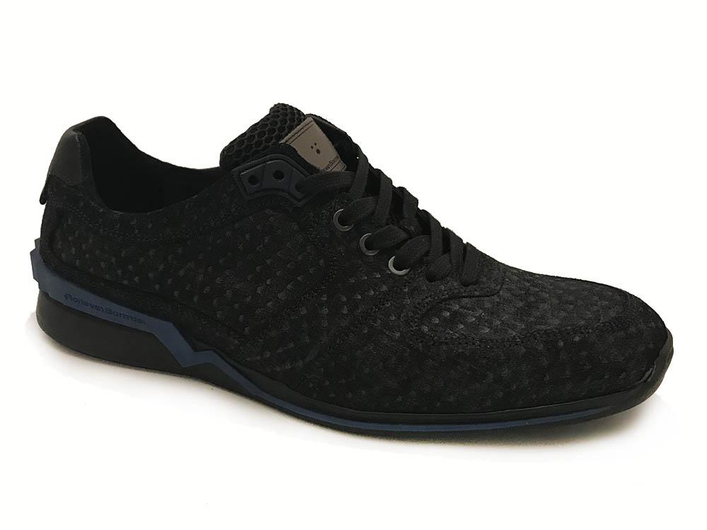Blauwe Floris van Bommel Sneakers Blue Snake