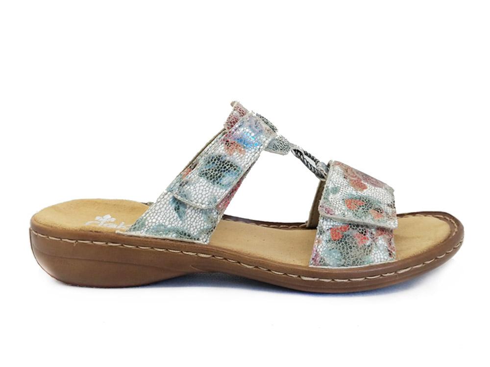 Multi-Color Rieker Slippers