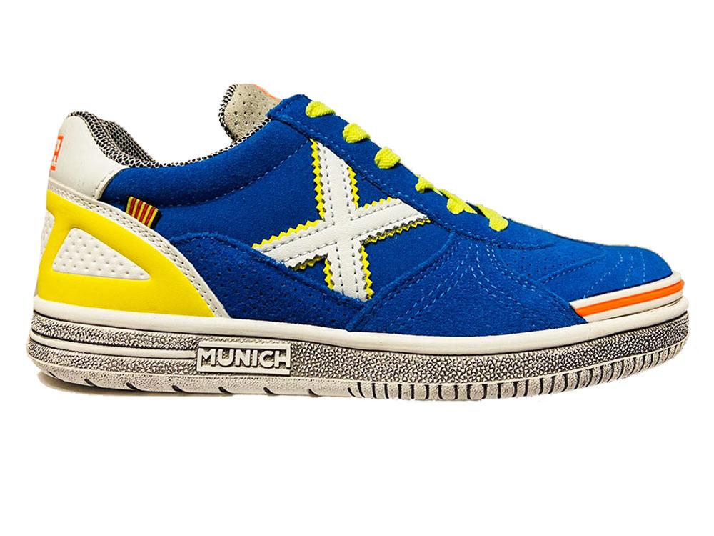 Blauwe Munich Sneakers G3 Kids