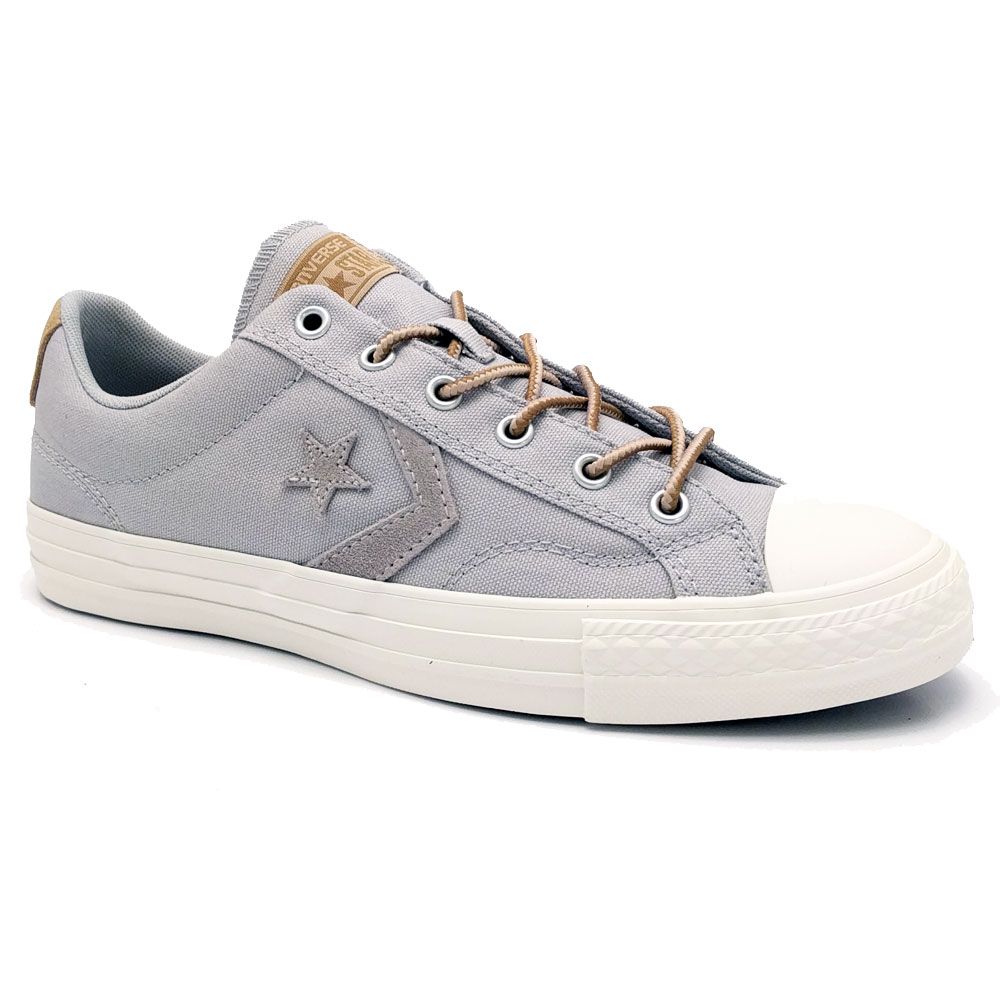 Lage Converse Star Player Sneakers Dove Grey