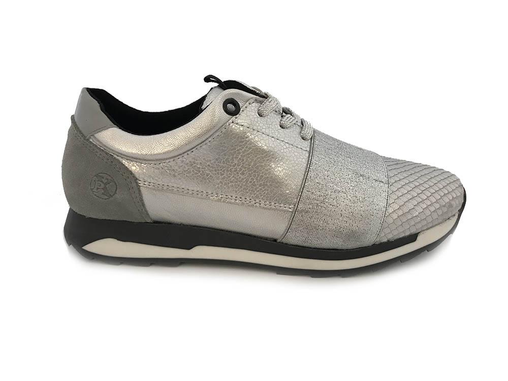 Zilveren Post Xchange Sneakers Carly 99