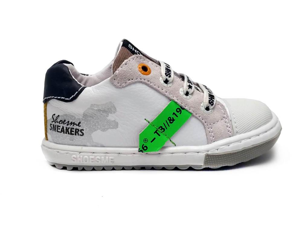 ShoesMe Witte  Veterschoenen Extreme Flex