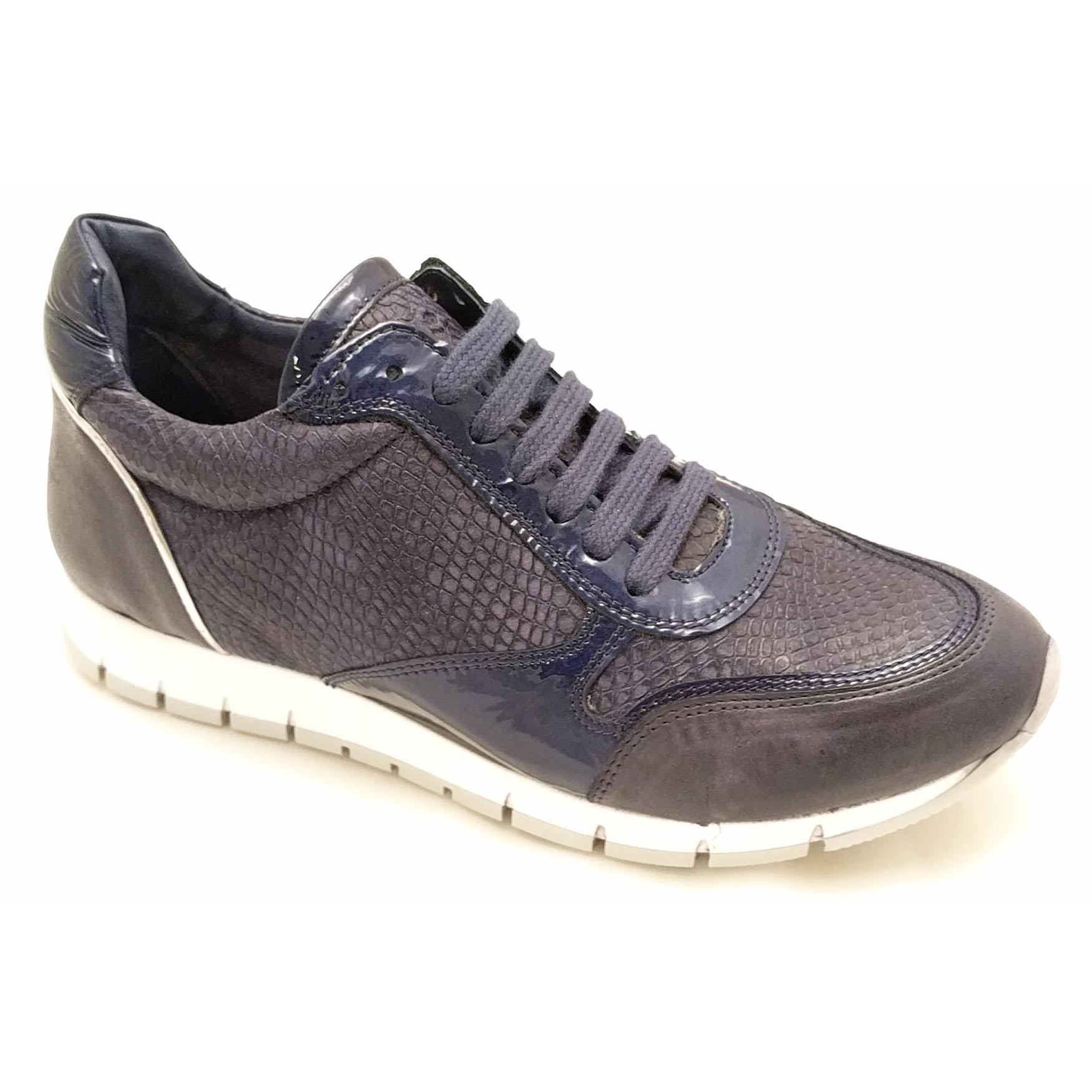 Blauwe Aqa Sneakers