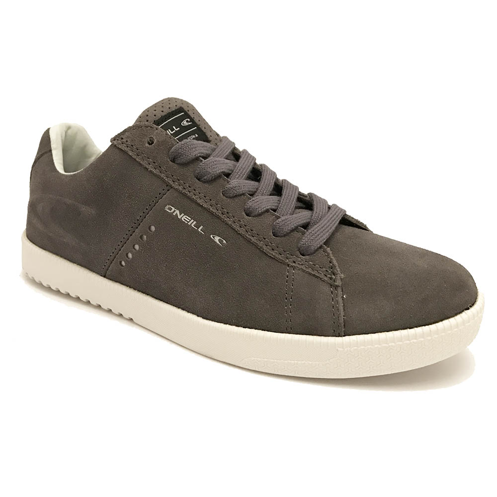 Grijze O'Neill Veterschoenen Ledge Low Suede