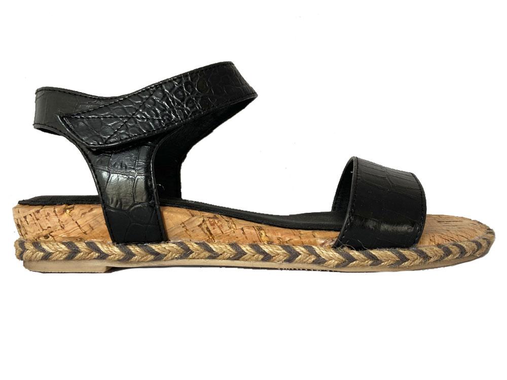 Zwarte Pitt Sandalen