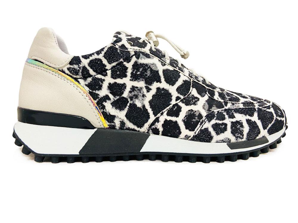 Zwarte Via Vai Sneakers Gable Nero