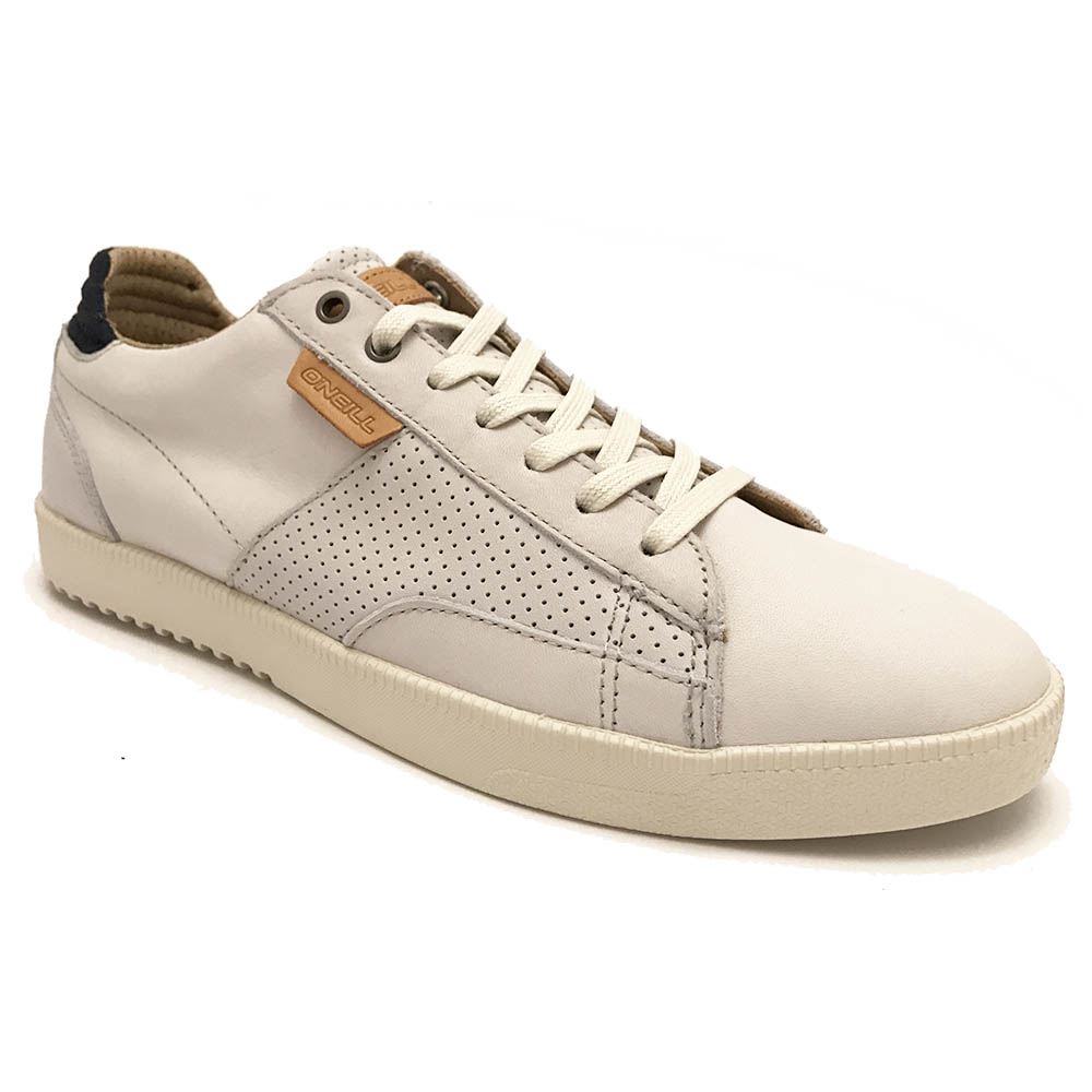 Witte O'Neill Veterschoenen Mutant Low Leather