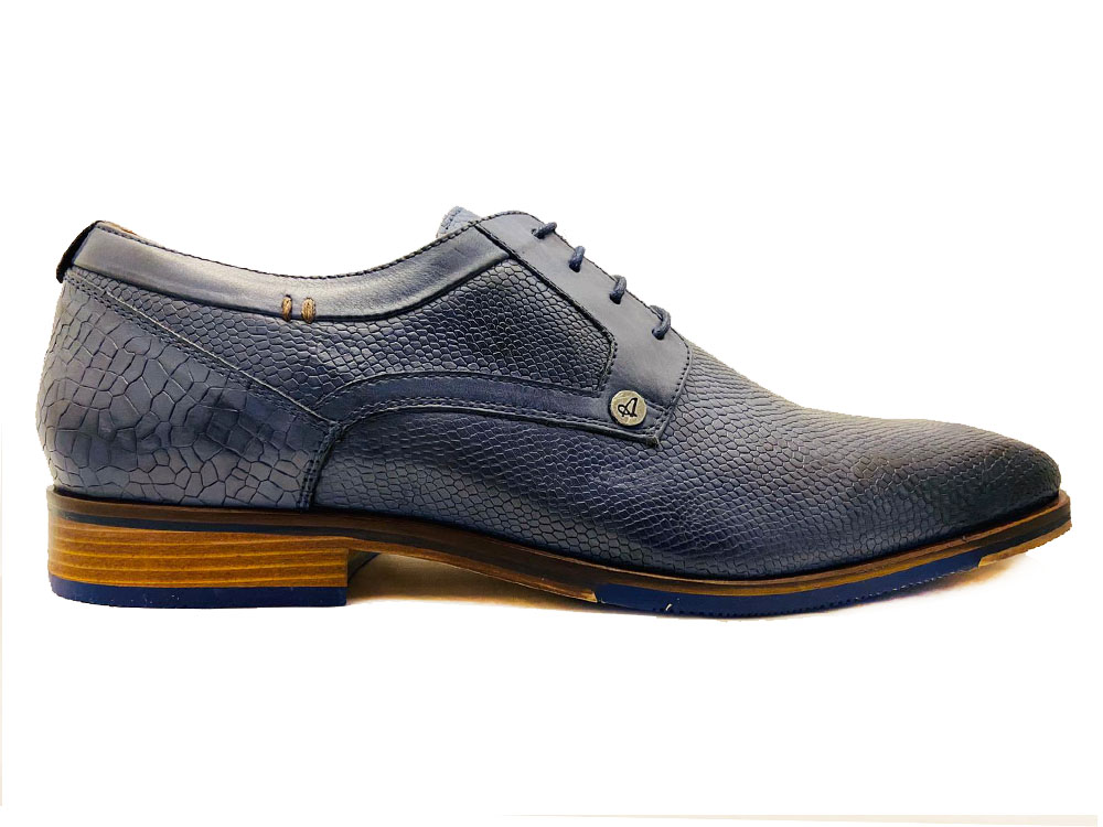 Blauwe Australian Veterschoenen Matteo Leather