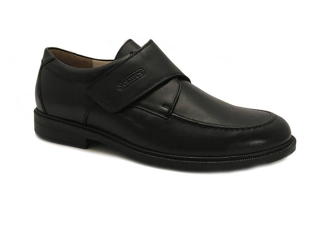 Chaussures Velcro Noir Solidus sZBAxkga