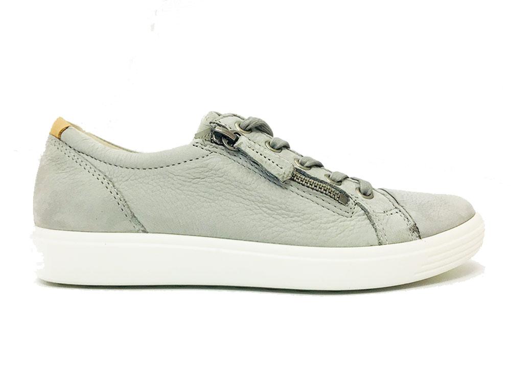 Doux 7 Chaussures De Sport Taupe Ecco ve0bwR9