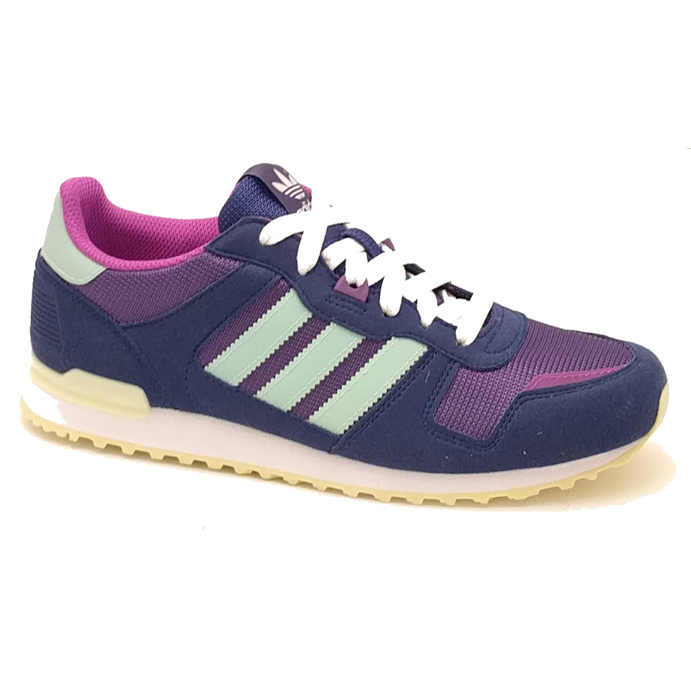 Paarse Adidas ZX 700 J Sneakers