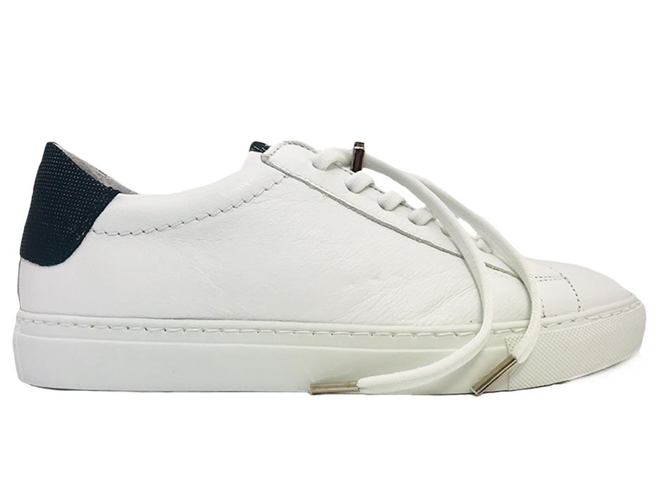 Witte Via Vai Sneakers Uma Vitello Bianco Nero
