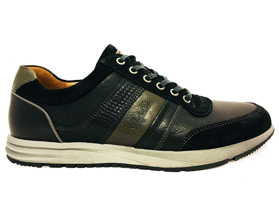 Zwarte Australian Veterschoenen Grant Leather