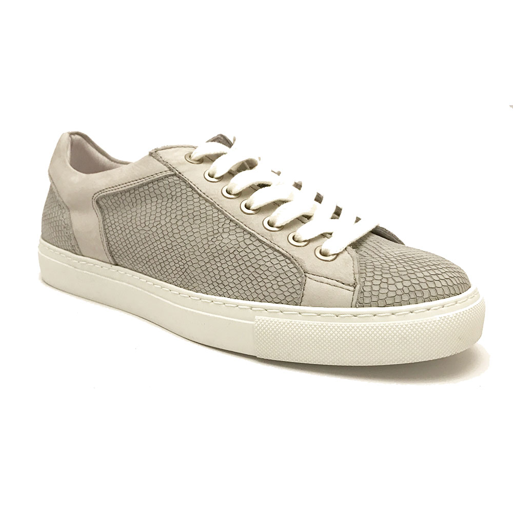 Witte Via Vai Sneakers Hamlet Blanc