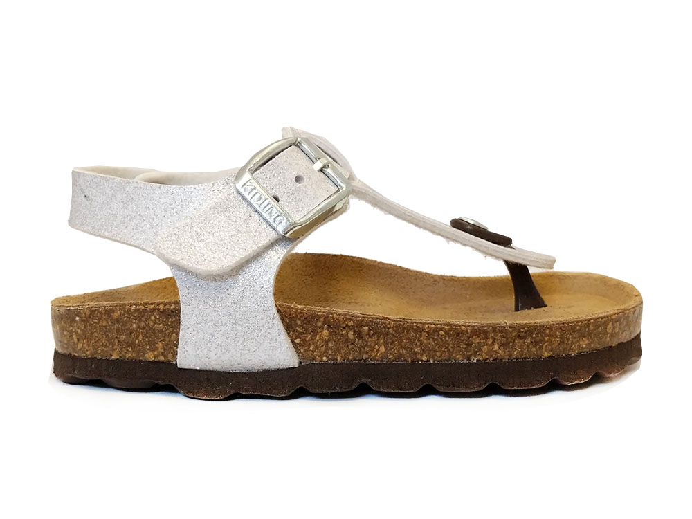 Zilveren Kipling Sandalen Maria 1