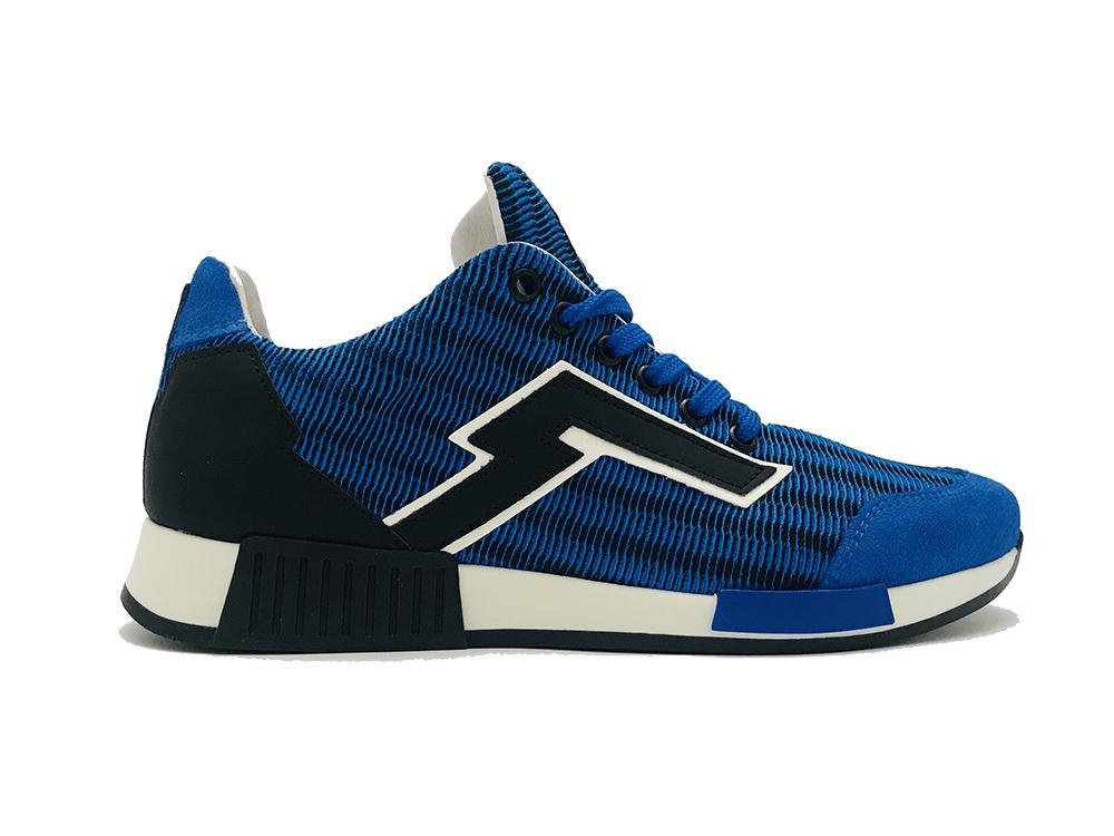 Red Rag Kinderschoenen.Blauwe Red Rag Sneakers Blue Fabrics Verest Schoenen