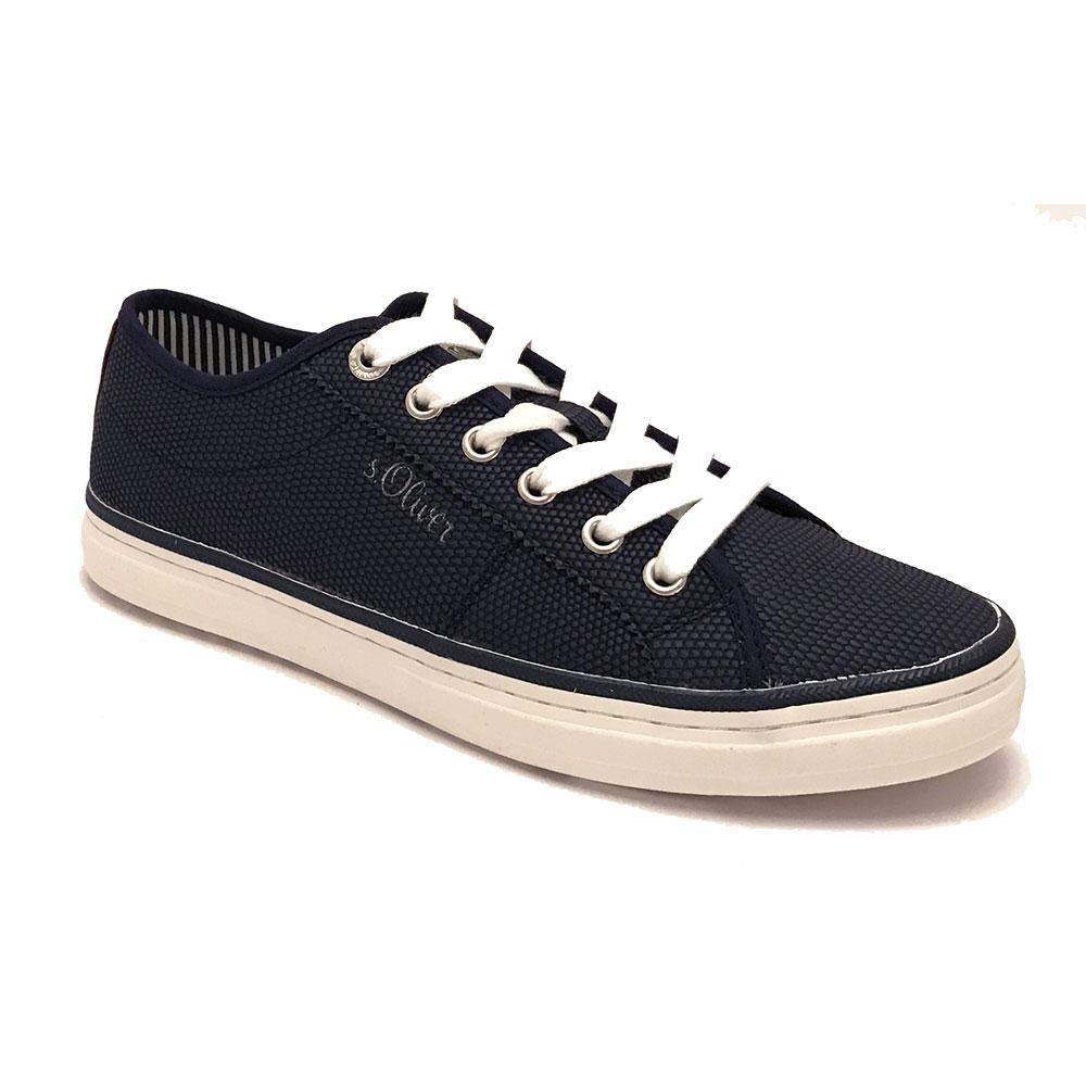 Blauwe s.Oliver Sneakers