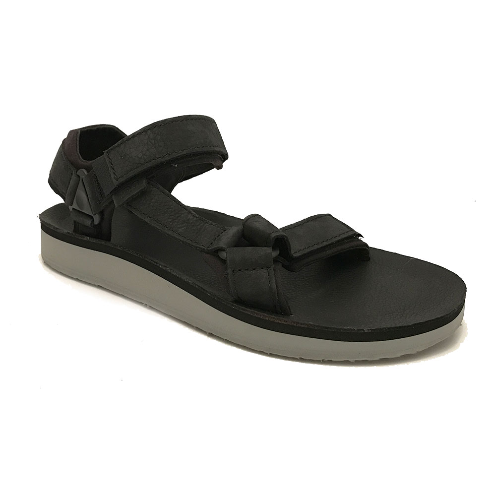 zwarte teva sandalen original universal leather verest schoenen. Black Bedroom Furniture Sets. Home Design Ideas