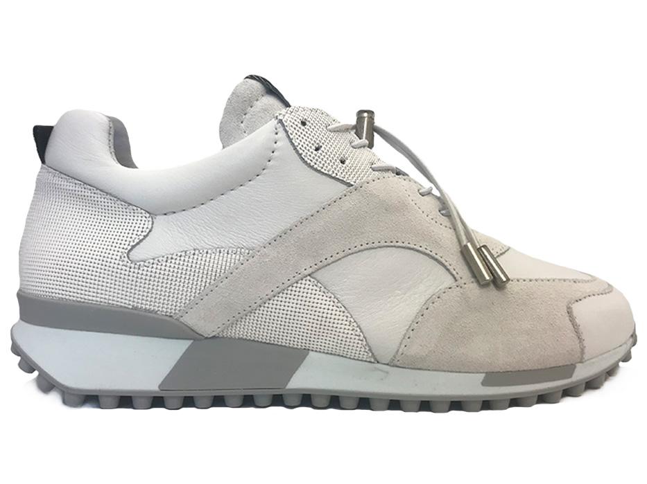 Witte Via Vai Sneakers Giulia Vitello Ramos Combi