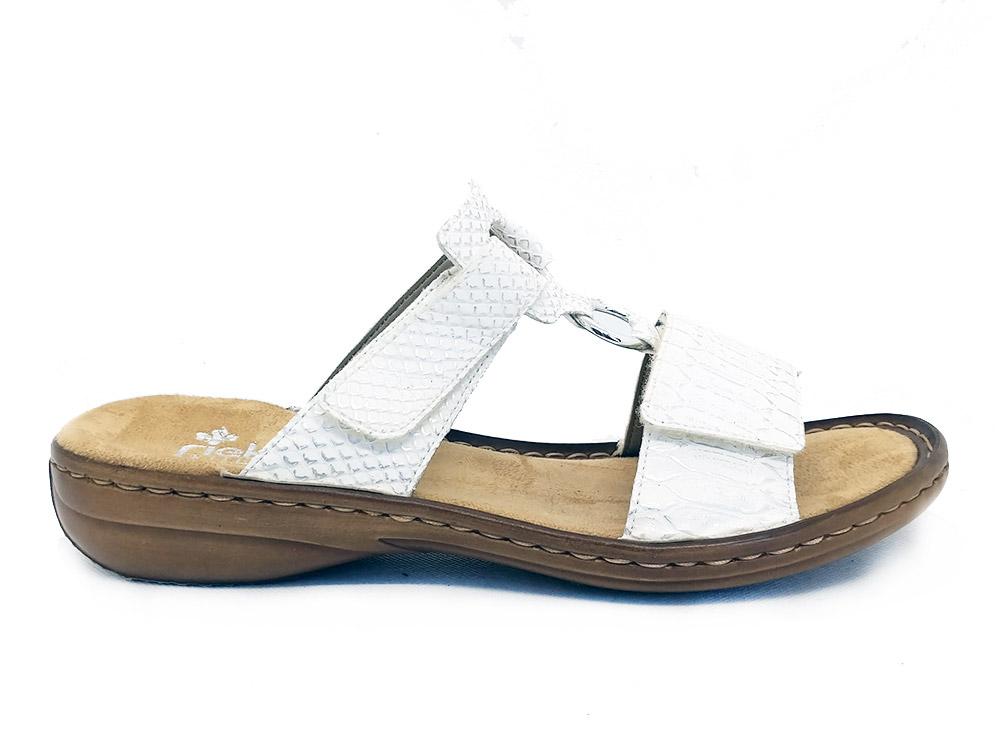 Witte Rieker Slippers