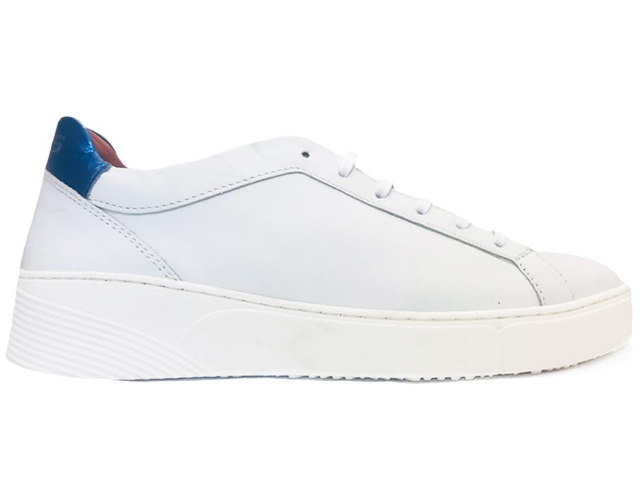 Witte Mjus Sneakers Jeans
