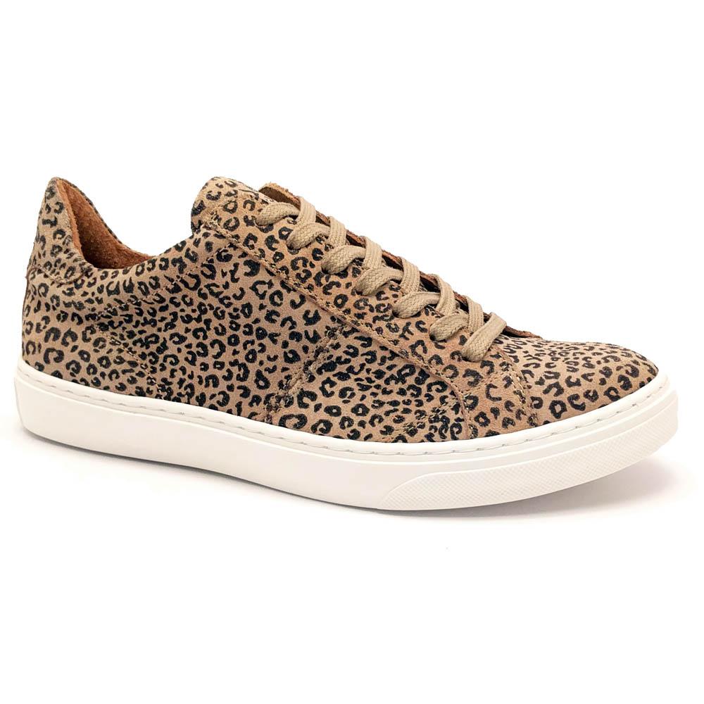 Bruine McGregor Sneakers Tess Leopard Suede