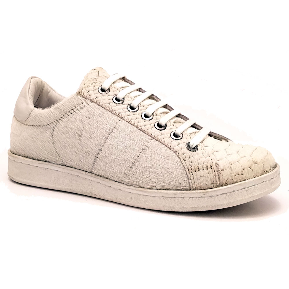 Beige Maruti Veterschoenen Nena Hairon Leather