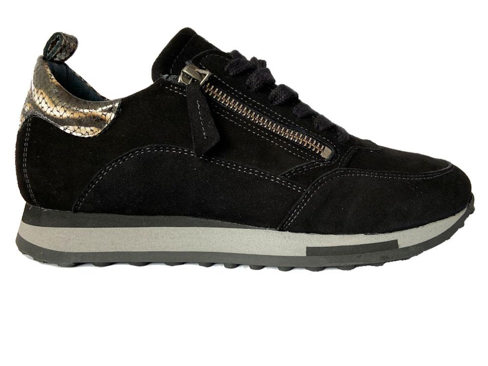 Zwarte Aqa Sneakers