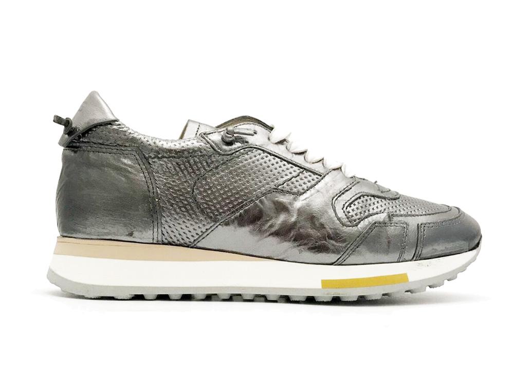 Zilveren Mjus Sneakers