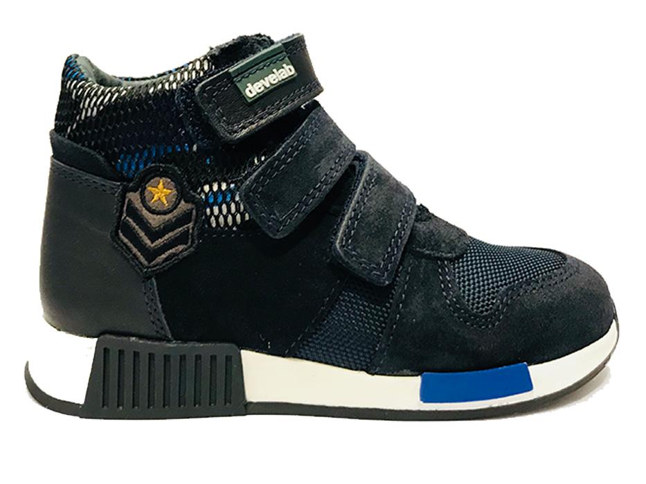 Blauwe Develab Sneakers 41693