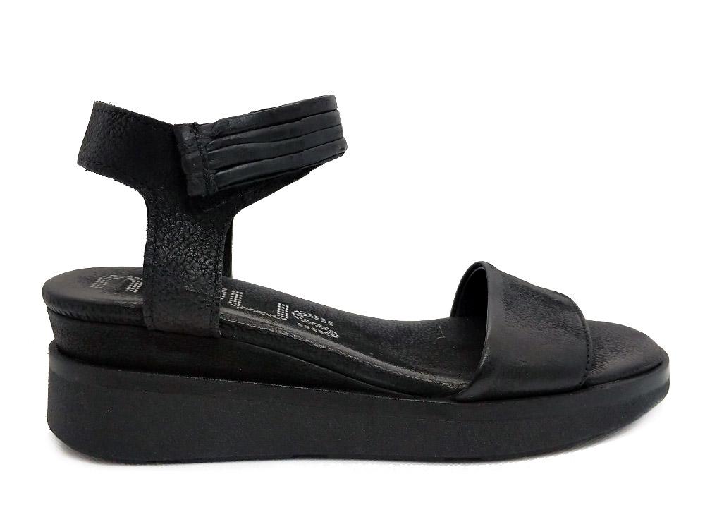 Zwarte Mjus Sandalen