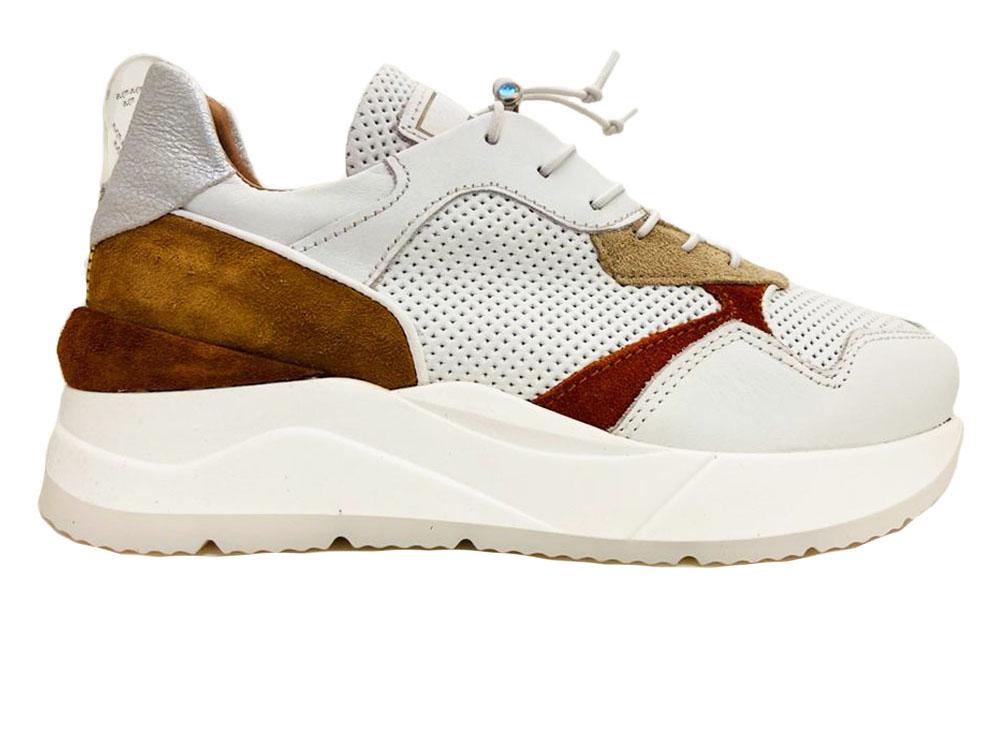 Witte Mjus Sneakers