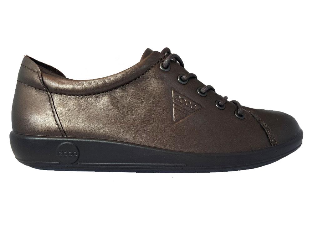 Bronzen Ecco Veterschoenen Soft 20 W Shale