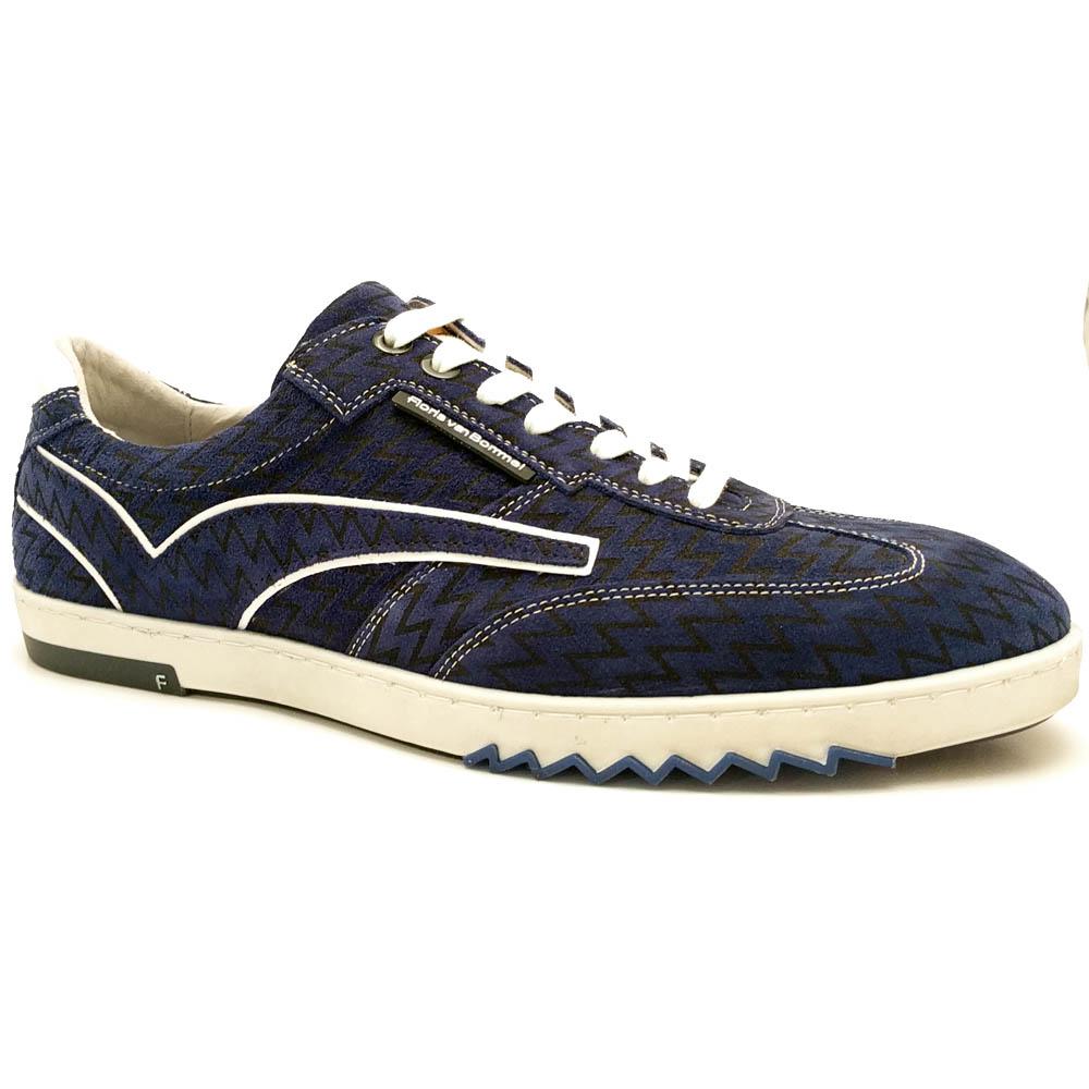 Blauwe Floris van Bommel Sneakers Wijdte G1/2