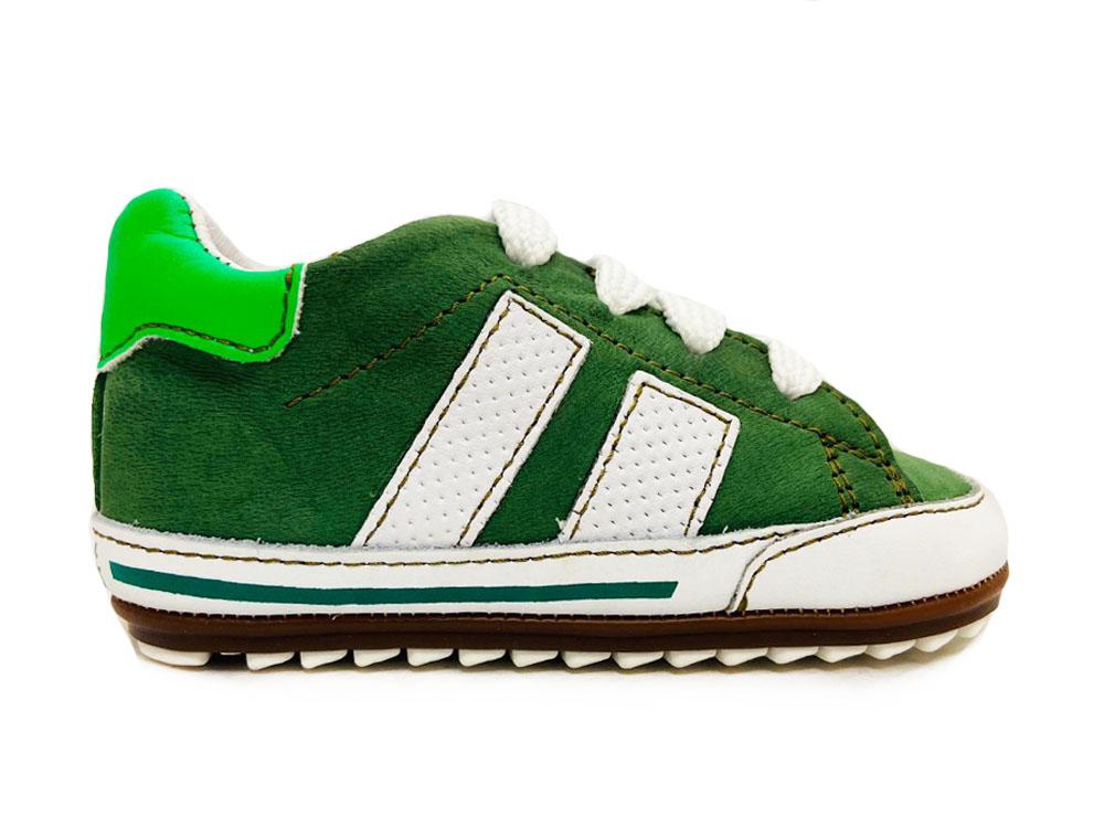 Groene ShoesMe Veterschoenen Flex Baby Proof