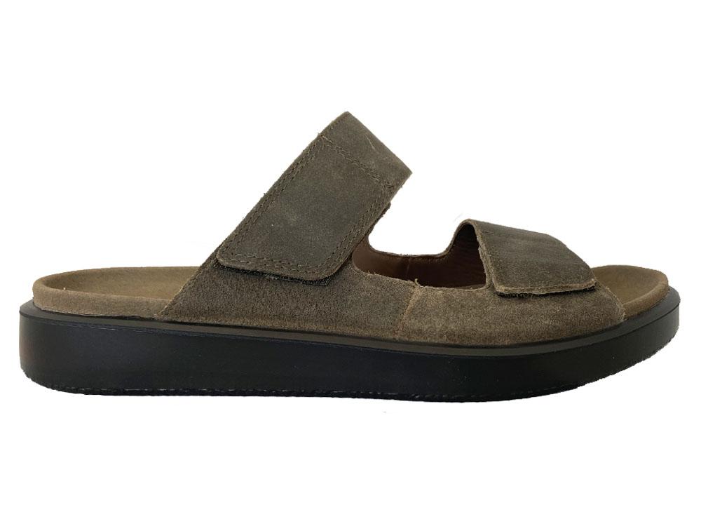 Bruine Ecco Slippers Flowt M Tarmac Banti