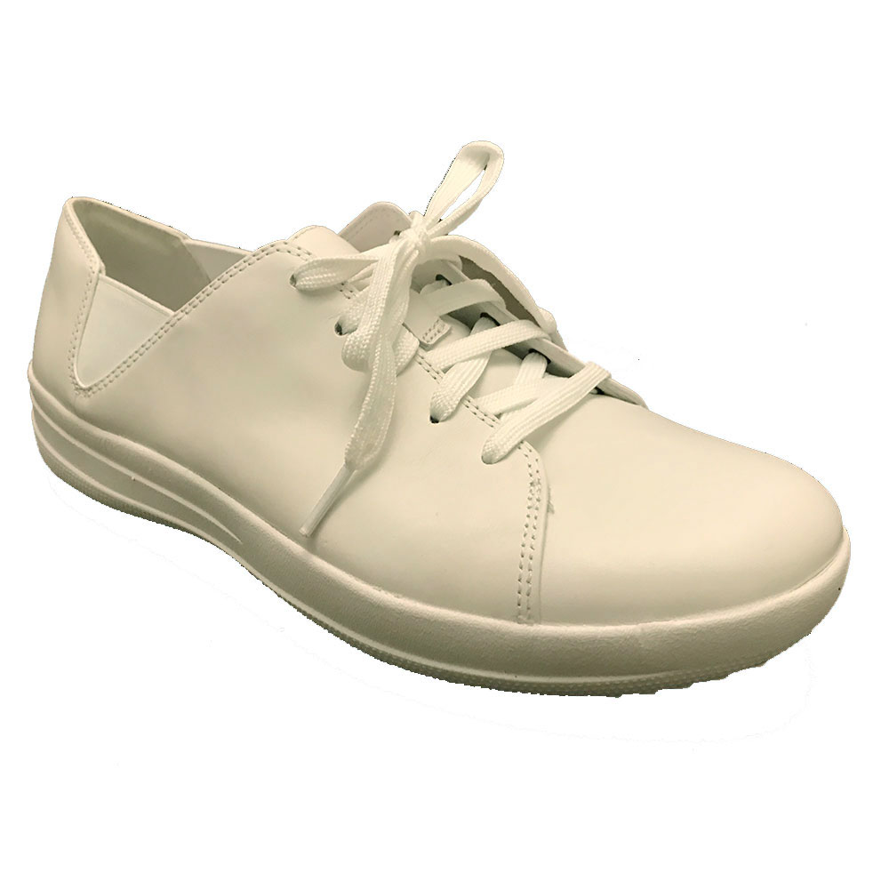 FitFlop™ F-Sporty™ Lace Up Sneaker Wit